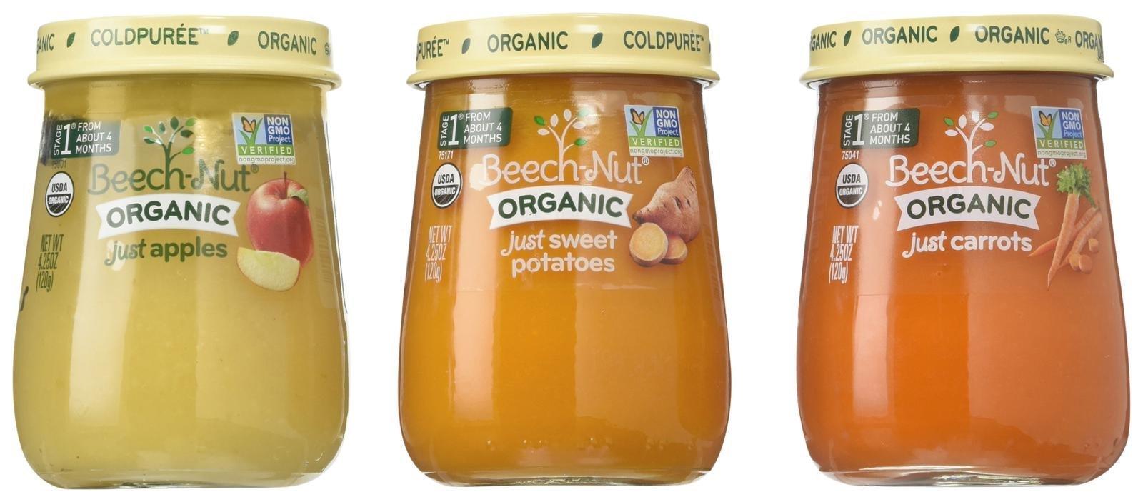 Organic Baby Food Variety Pack