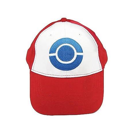 Pokemon Trainer Entrenador Sombrero de Satoshi Ash Ketchum Cosplay Hat Cap  Gorra de béisbol 3 versiones 4854beddcfe