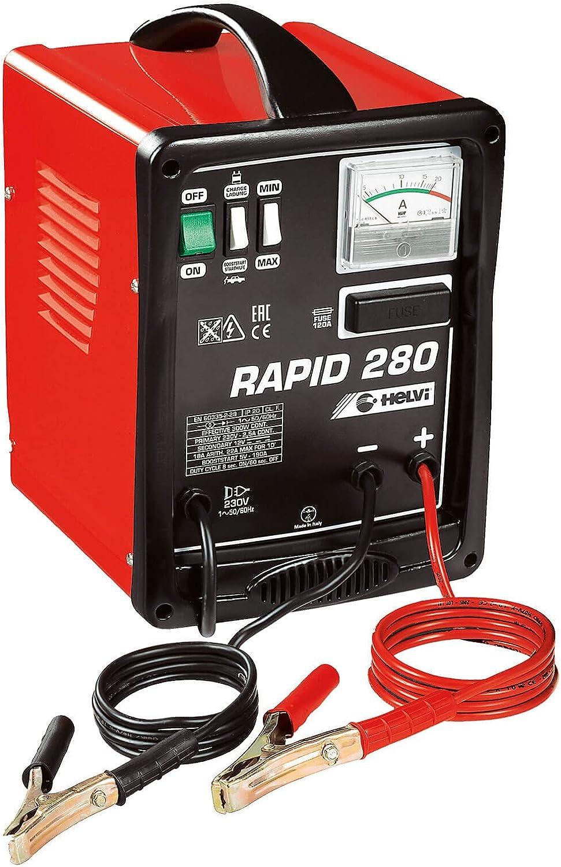 Helvi 99005040 Carica Batterie Starter Rapid 280 12V 230V