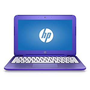 HP Stream 14-Inch Flagship Laptop (Intel Celeron N3050 1.6GHz, 4GB RAM, 32GB, Windows 10 Home) Violet (Certified Refurbished)