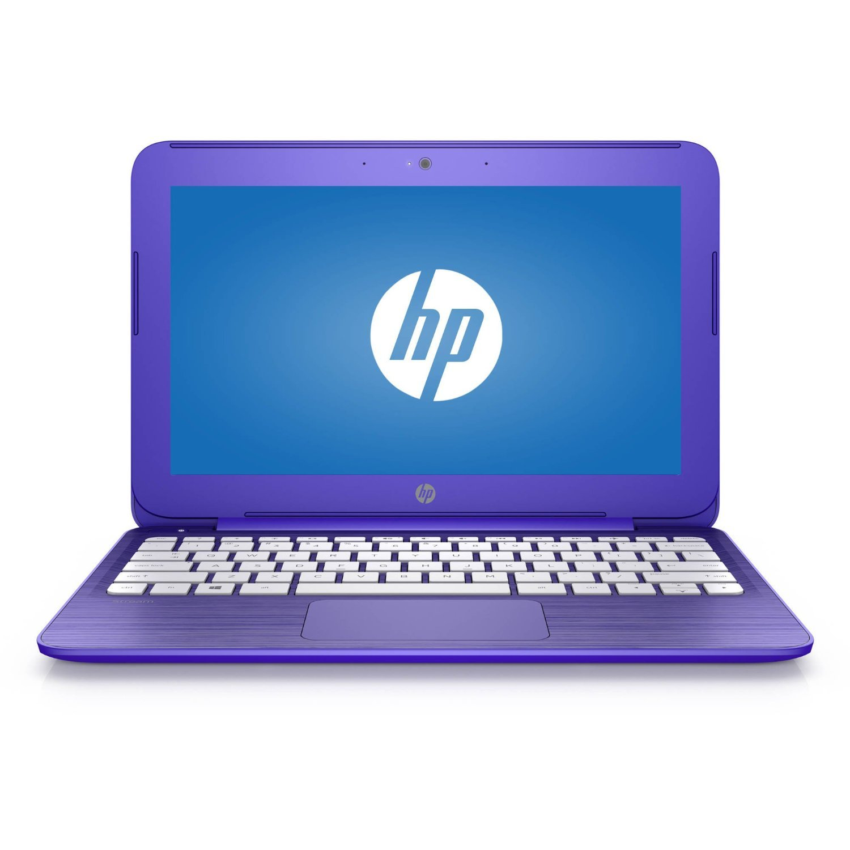 HP Stream 11 11.6 inch Premium Flagship Laptop (Intel Celeron N3060 1.6GHz, 4GB RAM, 32GB Solid State Drive,WiFi, HDMI, Windows 10 Home) Violet (Certified Refurbished)