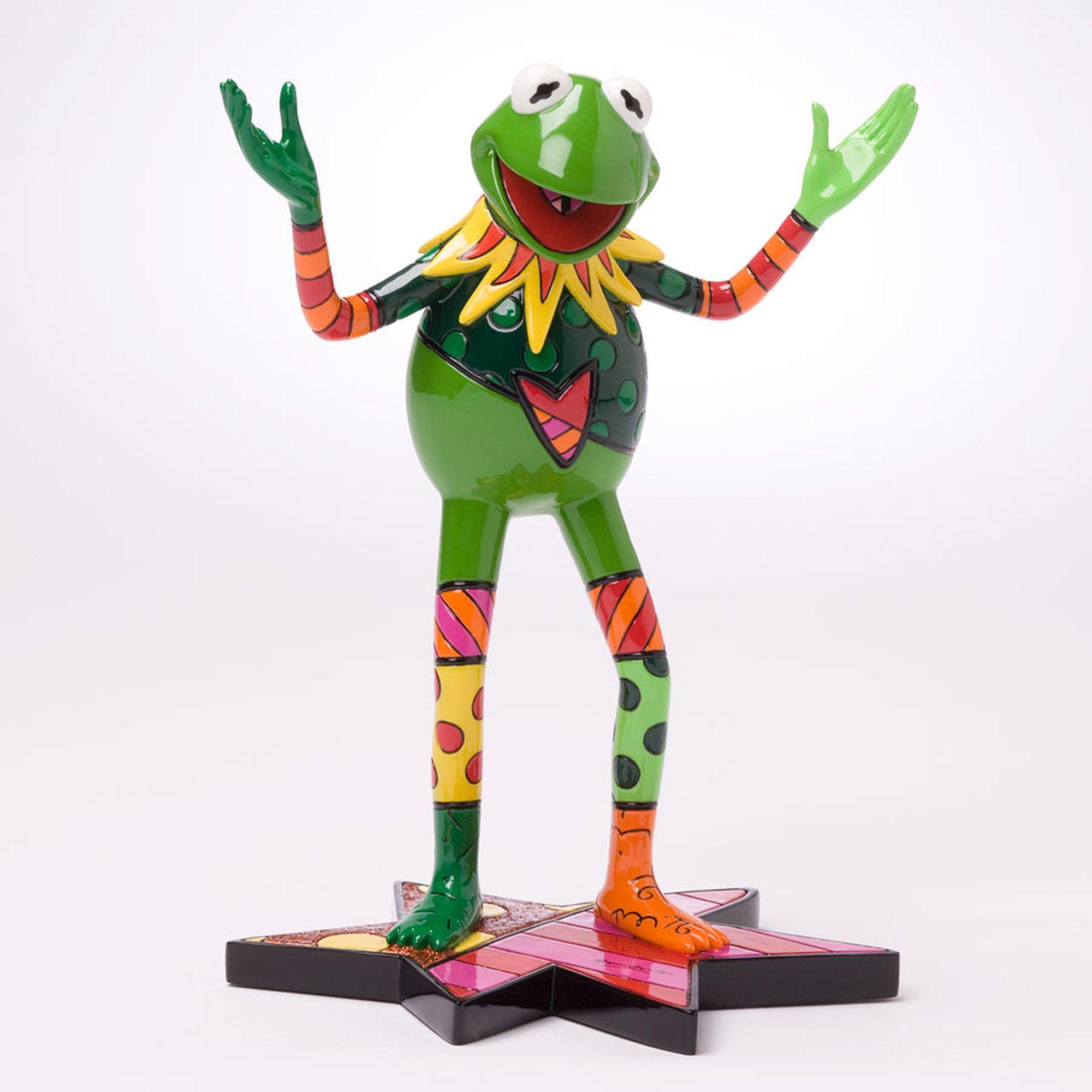 Enesco Disney by Britto Kermit The Frog Figurine, 8-3/4-Inch