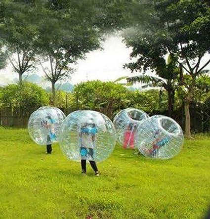 finlon Bubble pelotas de fútbol hinchable Cuerpo Parachoques zOrb ...