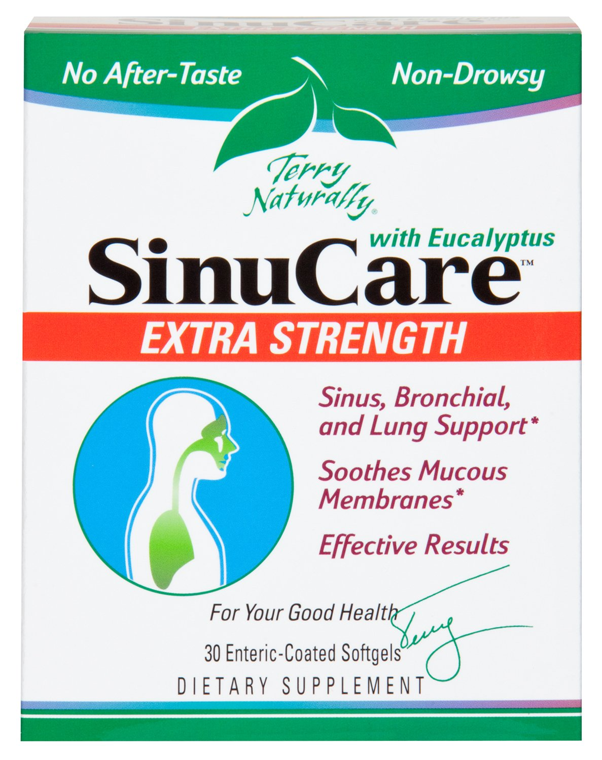 Terry Naturally SinuCare Extra Strength with Eucalyptus - 30 Softgels