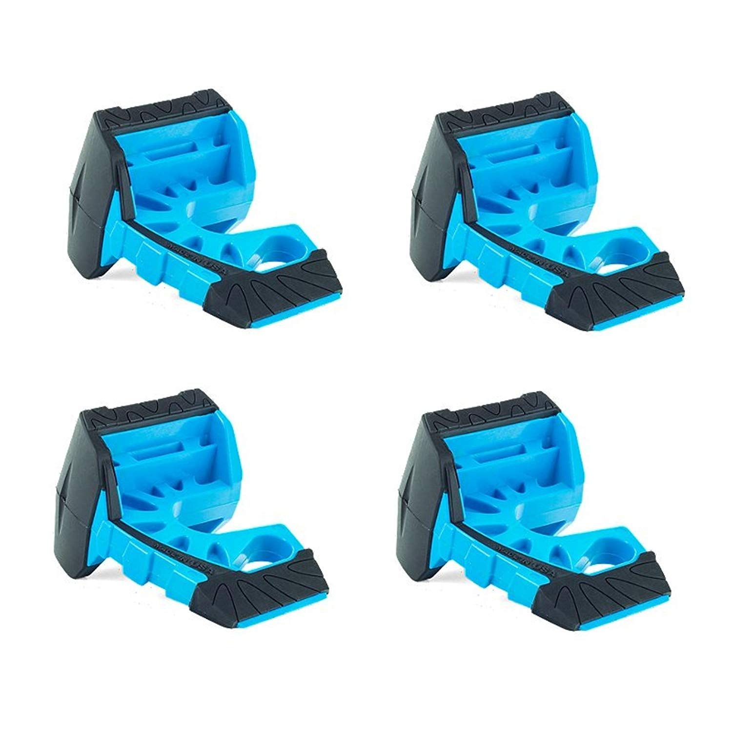 Wedge-It - The Ultimate Door Stop - Blue (4 in quantity) by Wedge-It