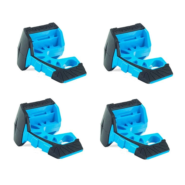 Wedge-It - The Ultimate Door Stop - Blue (4 in quantity)