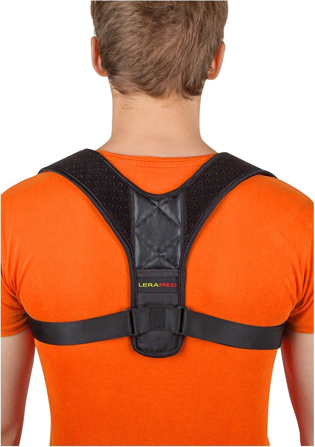 [New 2019] Posture Corrector for Women and Men | Neck Pain Relief | Adjustable Upper Back Brace for Clavicle Support best men's' posture corrector