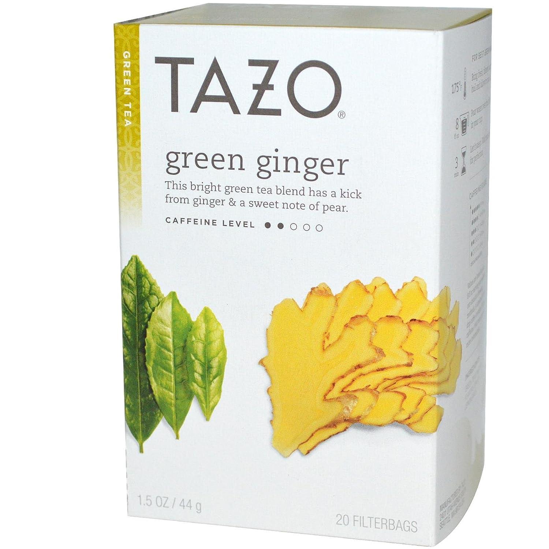 Tazo Tea 25795-3pack Tazo Tea Ginger Green Tea - 3x20 bag by TAZO