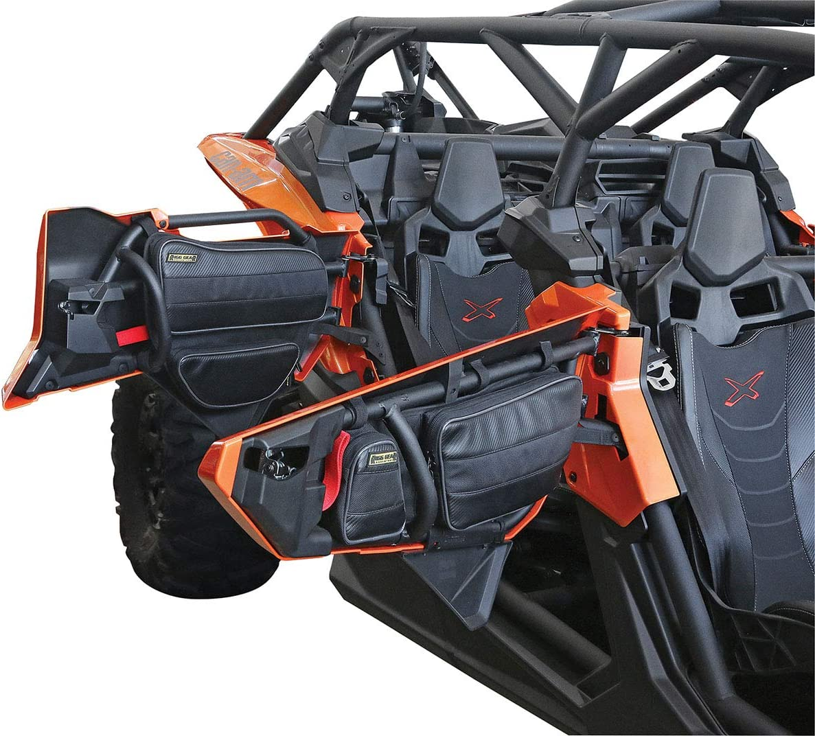 Nelson-Rigg RG-X3F Black Maverick X3 Front Door Bag Set