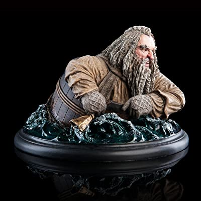 Weta Workshop OIN The Barrel Rider Hobbit Mini Statue: Toys & Games