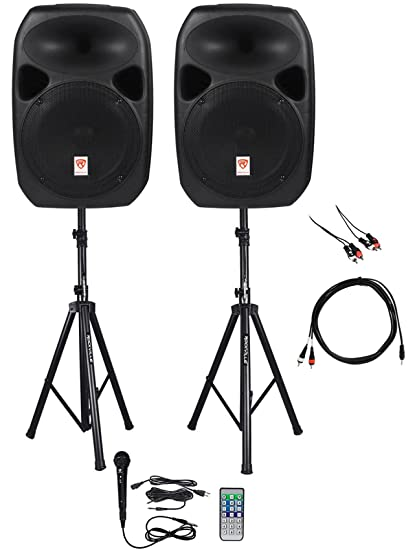 Amazon.com: Rockville Power GIG RPG-122K All In One DJ/PA Package (2 on