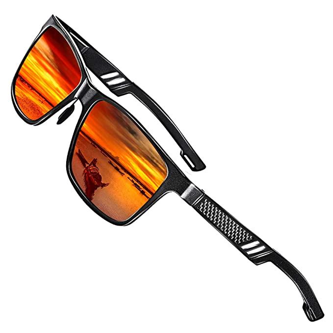 Amazon.com: Gafas de sol polarizadas de Rocknight Mg-Al para ...