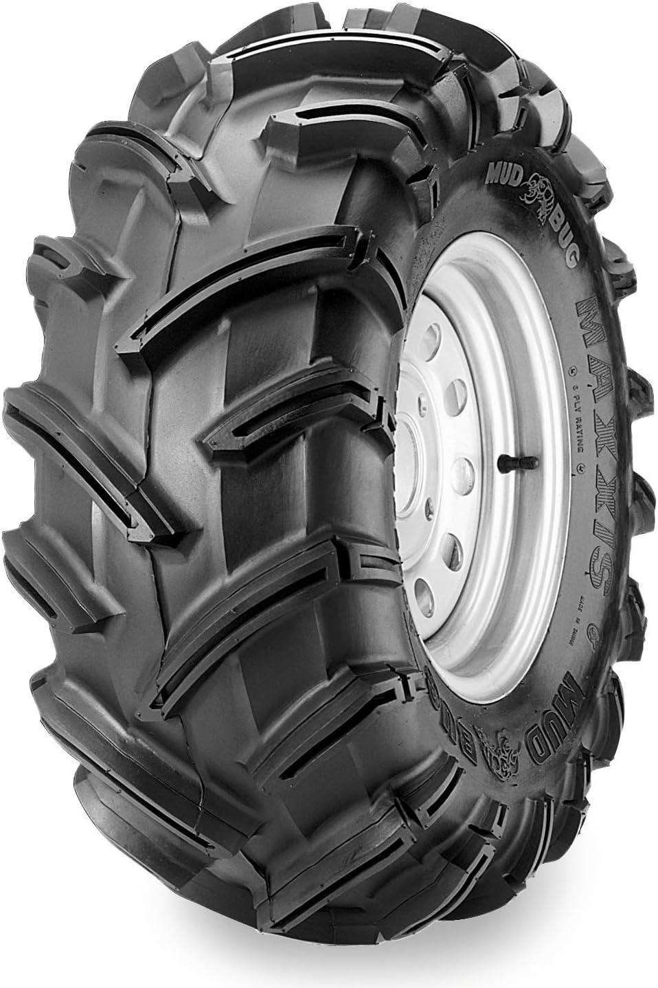 Position: Rear Tire Type: ATV//UTV Rear Tire Ply: 6 Tire Construction: Bias Maxxis MU02 Zilla Tire Tire Application: Mud//Snow TM00153100 Tire Size: 28x12x12 28x12x12 Rim Size: 12