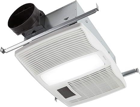 broan nutone qtx110hl very quiet ceiling heater fan and light combo for bathroom and home 0 9 sones 1500 watt heater 60 watt incandescent light