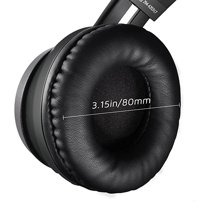 Amazon.com: Mpow Thor Bluetooth Headphones On Ear, 40mm Driver Wireless Headset Foldable with Mic, Wired and Wireless Headphones for Cell Phone/TV/PC: Cell ...