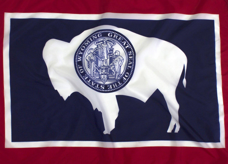6x10ft Wyoming Flag - Highest Quality Outdoor Nylon