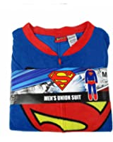 Briefly Stated Superman One-Piece Pajama Suit