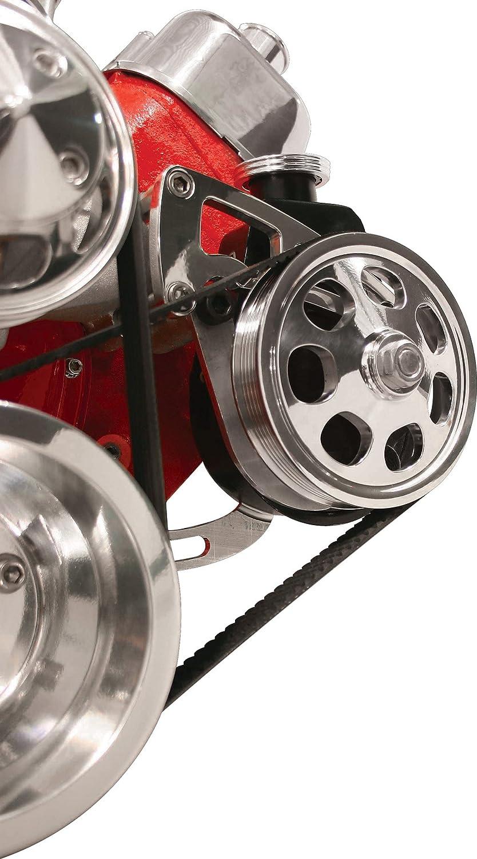 Billet Specialties FM0230PC Saginaw Pump Power Steering Bracket for Big Block Chevy
