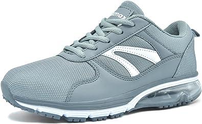 Knixmax Zapatillas de Running para Mujer, Zapatillas de Deportivas para Correr Al Aire Libre Zapatos Gimnasia Ligero Fitness Casual Sneakers Zapatillas Ligeras Cómodas y Transpirables, 36-41EU: Amazon.es: Zapatos y complementos
