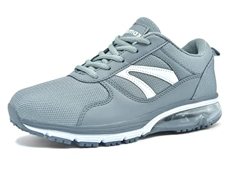 bb3e27aa5904e1 Knixmax Damen Sportschuhe Bequem Turnschuhe Atmungsaktiv Running Sneaker  Outdoor Fitnessschuhe Leicht Laufschuhe EU 36-(