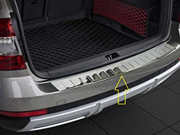 2013 Onwards 3 SALOON Stainless Steel Rear Bumper Protector Scratch Guard