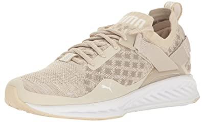 c36c32aa9f84 PUMA Women s Ignite Evoknit LO Pavement WNS Cross-Trainer Shoe  Oatmeal-Vintage Khaki White