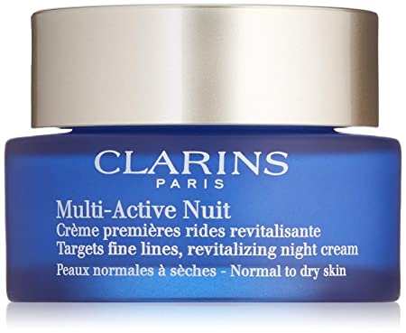 Clarins Multi-Active Night Cream For Normal to Dry Skin, 1.7 oz