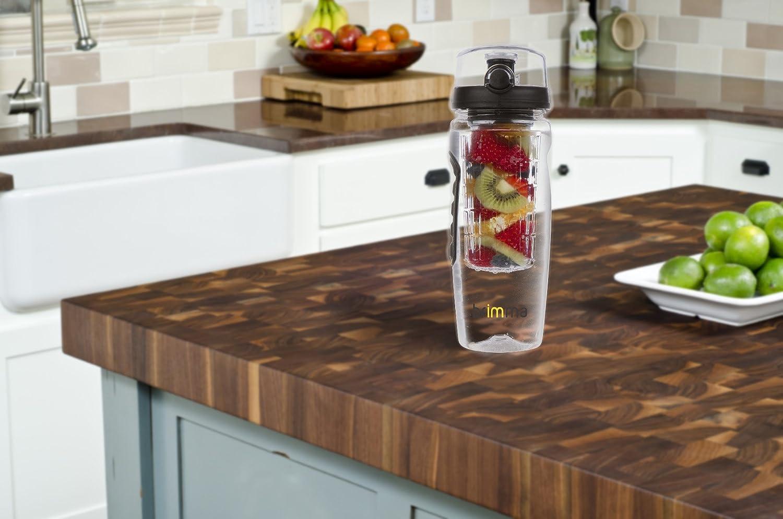 Large 32 Oz. Brimma Leak Proof Fruit Infuser Water Bottle