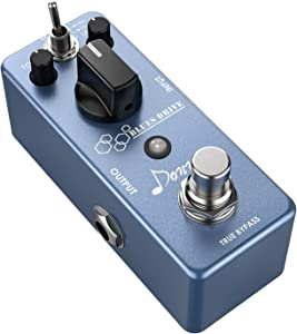 Donner Blues Drive Classical Electronic Vintage Overdrive Guitar Effect Pedal True Bypass Warm/Hot Modes