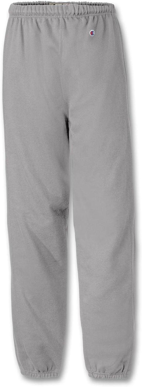XL-Silver Gray Champion Reverse Weave/® Closed-Bottom Mens Sweatpants