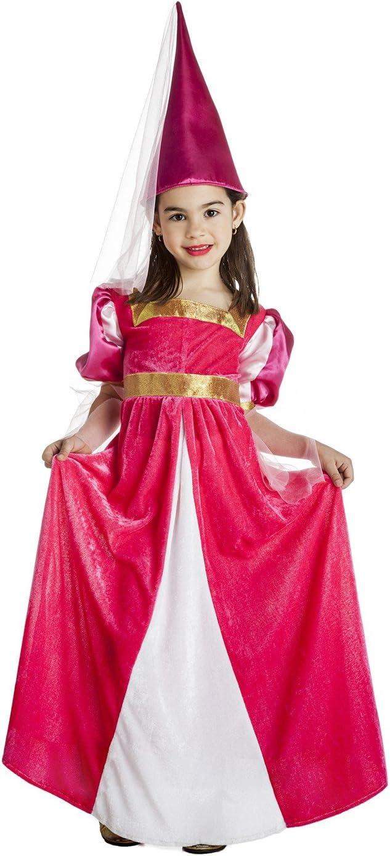 Disfraz de Princesa Medieval de cuento para niña: Amazon.es ...