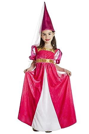 Disfraz de Princesa Medieval de cuento para niña