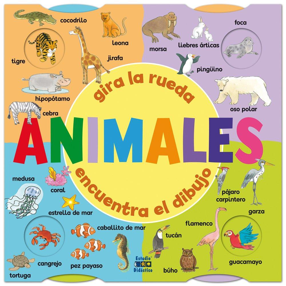 Animales encuentra el dibujo (Gira la rueda, Band 4)