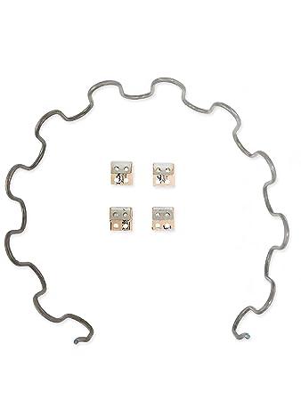 Elegant Sofa Upholstery Replacement Springs, 8 Gauge 25u0026quot; Spring, ...