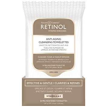 Reinol Anti-Aging Cleansing Towelettes