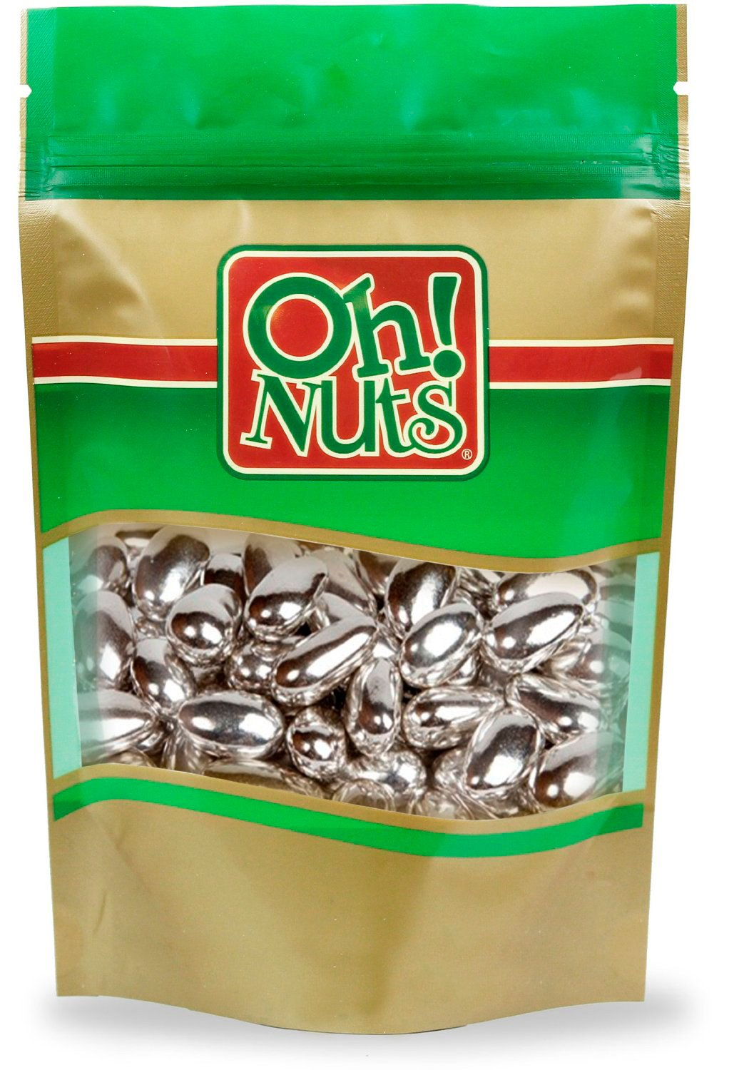 Silver Jordan Almonds 2.2 Pound Box by Oh! Nuts®