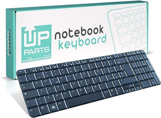 UpParts® UP-KBH037 - Teclado para ordenador portátil HP Presario CQ61, G61-100, teclado italiano