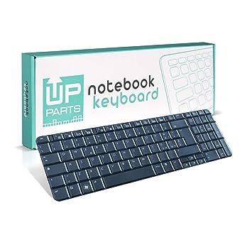 UpParts® UP-KBH037 - Teclado para ordenador portátil HP Presario CQ61, G61-100, teclado italiano: Amazon.es: Electrónica