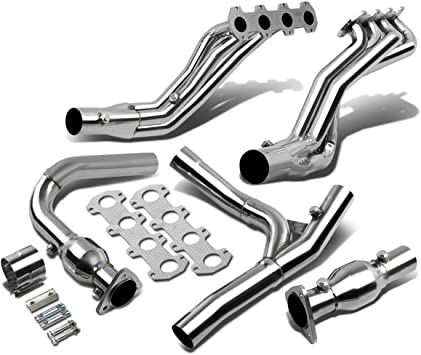 Amazon Com Replacement For Ford F 150 Rwd 5 4l High Performance Stainless Steel Long Tube Exhaust Header Y Pipe Automotive
