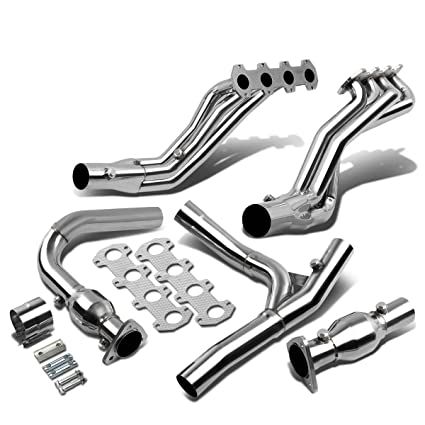 For Ford F 150 Rwd 5 4l High Performance Stainless Steel Long Tube Exhaust Header Y Pipe
