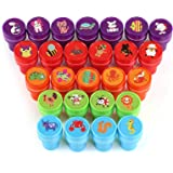 Kesoto 26 Pieces Assorted Stamps for Kids Self-Inking Stamps Animal Nautical Stamps Sea Ocean Stamps - Party Favor, Teacher Stamps
