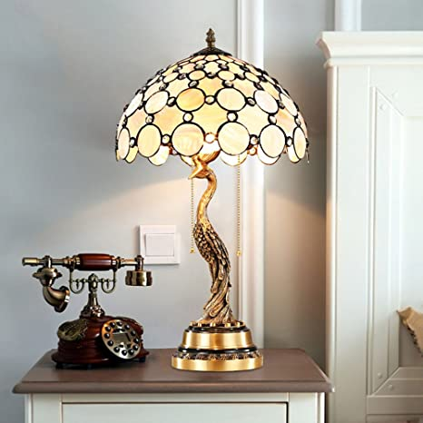 Tiffany Style Table Lamp Table Lamps For Bedroom Creative