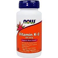 Now Foods, la Vitamine K2, x100Vcaps