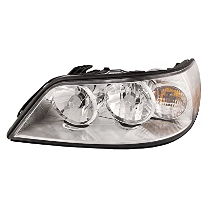 Amazon Com Headlights Depot Replacement For Lincoln Town Car
