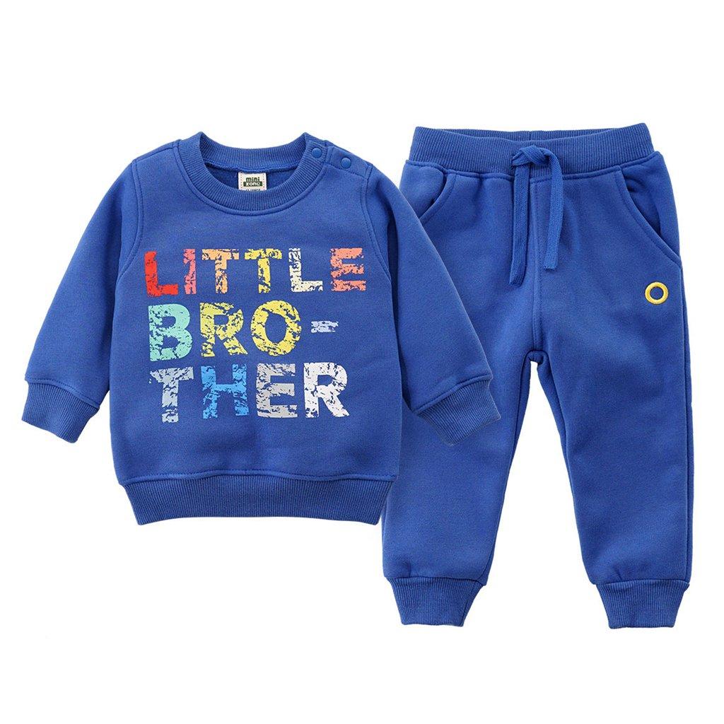 Bambino 6-12 mesi Unisex Bambina Blu navy Maddins Felpa per Neonato
