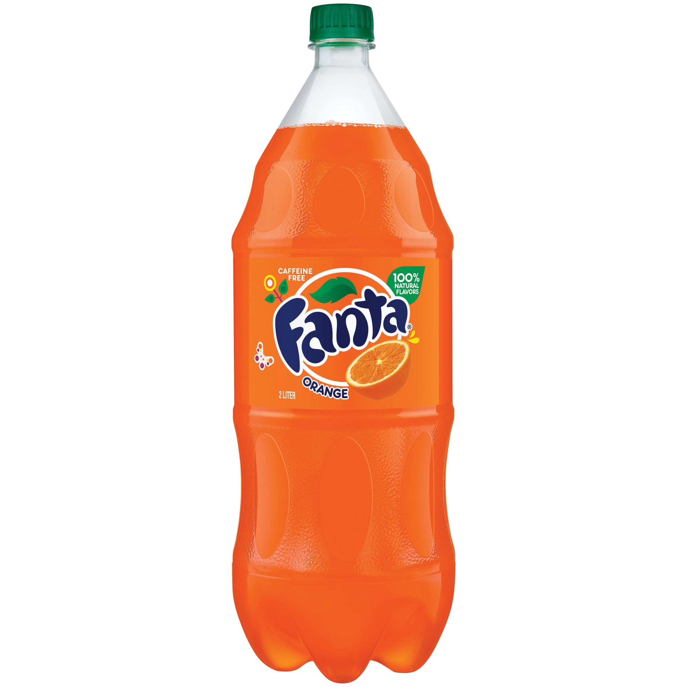 Fanta Orange Soda Fruit Flavored Soft Drink, 67.6 Fl Oz