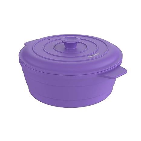 Amazon.com: Bakerpan - Olla de silicona plegable redonda ...