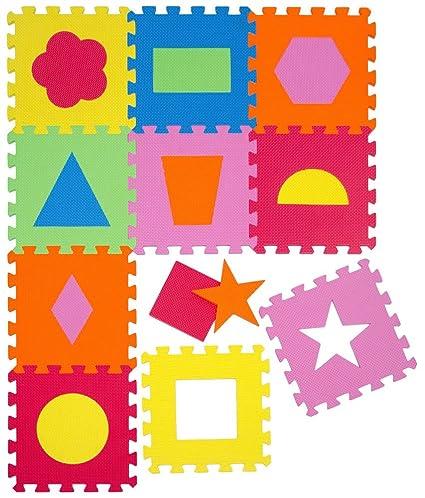 LittleTom Alfombras Puzzle para Bebé Alfombrilla Niños Suelo Goma EVA Iconos