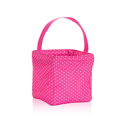 040e569f9883 Amazon.com : Thirty-One Littles Carry-All Caddy in Pink Swiss Dot ...