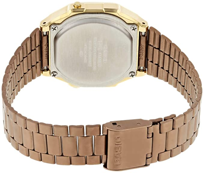 6c2a0710e55e6a Casio Unisex Digital Quartz Watch with Stainless Steel Strap A168WECM-5EF:  Amazon.co.uk: Watches